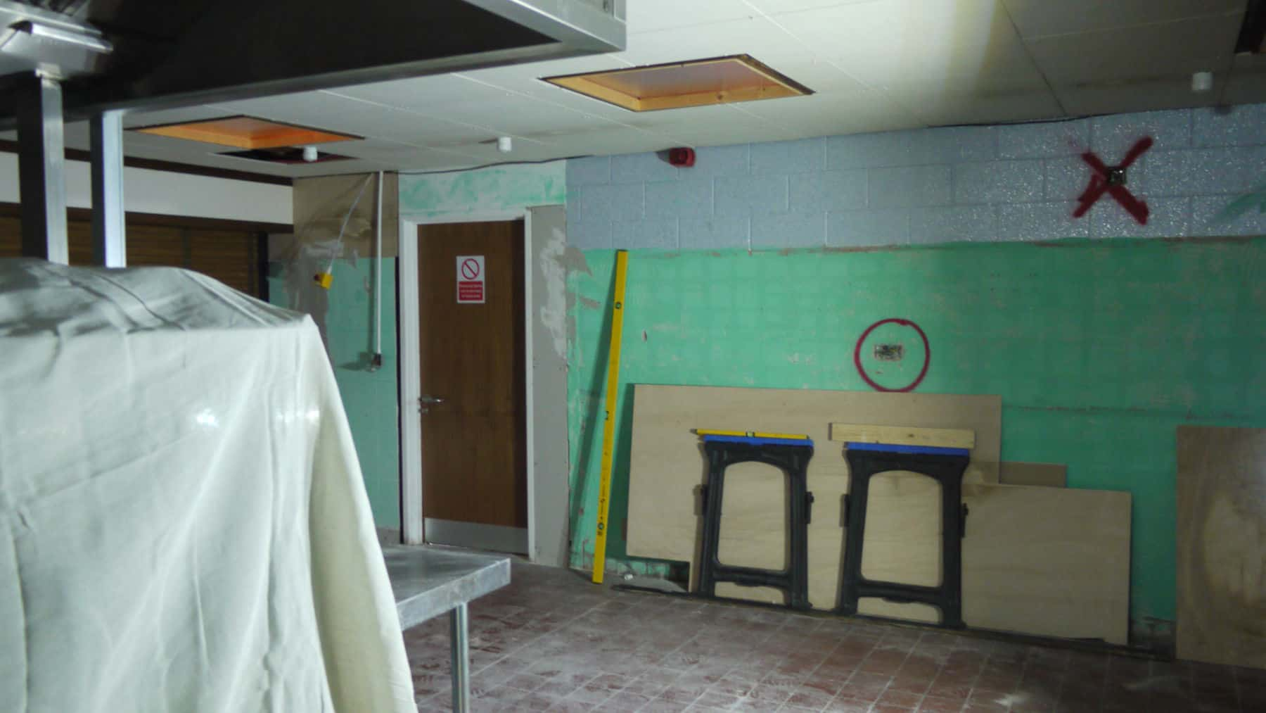 Commercial case study – Kitchen Refurbishment – For Calthorpe Academy